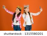 egocentric princess. kids wear... | Shutterstock . vector #1315580201