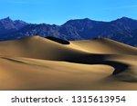 blurred picture of sand dunes... | Shutterstock . vector #1315613954