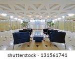 empty reception  hall of modern ... | Shutterstock . vector #131561741