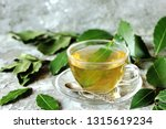 Small photo of tea from bay leaf. useful hot drink is useful for colds, increases immunity, has antiviral effect, soothes the nervous system, improves appetite.