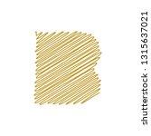 modern trendy b letter unique... | Shutterstock .eps vector #1315637021