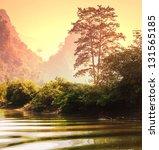 tropical landscapes vietnam | Shutterstock . vector #131565185