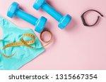fitness concept. sport... | Shutterstock . vector #1315667354