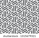 pattern with intersecting... | Shutterstock .eps vector #1315679321