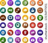 color back flat icon set  ... | Shutterstock .eps vector #1315697051