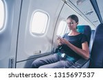 travel and technology. young... | Shutterstock . vector #1315697537
