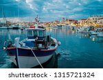 harbor with leisure and fishing ... | Shutterstock . vector #1315721324