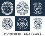 premium authentic navy logos...   Shutterstock . vector #1315761011