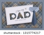 happy fathers day  festive... | Shutterstock .eps vector #1315774217