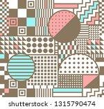 geometric minimalistic pattern... | Shutterstock .eps vector #1315790474