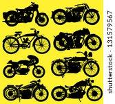 Vintage Motorcycle Motorbike...
