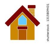 house icon   vector real estate ... | Shutterstock .eps vector #1315809431