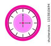 clock icon   vector clock... | Shutterstock .eps vector #1315810694