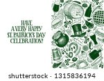 st. patricks day design... | Shutterstock .eps vector #1315836194