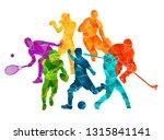 color sport background.... | Shutterstock .eps vector #1315841141