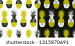 collage seamless pattern with... | Shutterstock .eps vector #1315870691