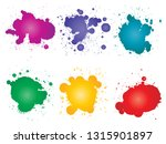 vector collection of artistic... | Shutterstock .eps vector #1315901897