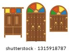 old traditional heritage icons... | Shutterstock .eps vector #1315918787