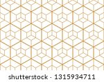 the geometric pattern with... | Shutterstock . vector #1315934711
