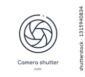 camera shutter icon from... | Shutterstock .eps vector #1315940834
