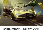 electromobility  3d rendering  | Shutterstock . vector #1315947941