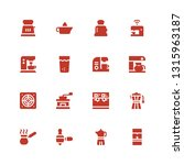 maker icon set. collection of... | Shutterstock .eps vector #1315963187