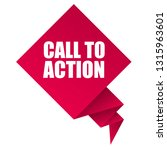 call to action sign label. call ... | Shutterstock .eps vector #1315963601