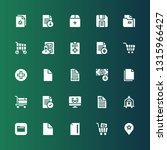 add icon set. collection of 25... | Shutterstock .eps vector #1315966427