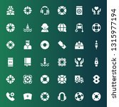 assistance icon set. collection ... | Shutterstock .eps vector #1315977194