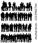 vector  isolated  silhouette... | Shutterstock .eps vector #1315982744