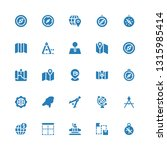 cartography icon set....   Shutterstock .eps vector #1315985414