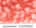 trendy coral pink geometric... | Shutterstock .eps vector #1315990367