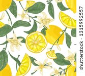 seamless pattern with fresh... | Shutterstock .eps vector #1315992557