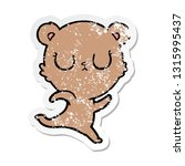 distressed sticker of a... | Shutterstock .eps vector #1315995437