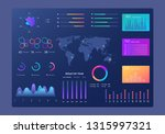 infographics dashboard. modern...