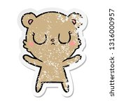 distressed sticker of a... | Shutterstock .eps vector #1316000957