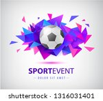 vector football abstract design ... | Shutterstock .eps vector #1316031401
