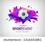 vector football abstract design ... | Shutterstock .eps vector #1316031881
