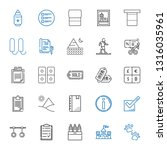 mark icons set. collection of... | Shutterstock .eps vector #1316035961