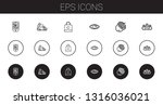 eps icons set. collection of...