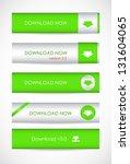 special green website download... | Shutterstock .eps vector #131604065