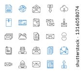 download icons set. collection... | Shutterstock .eps vector #1316058074