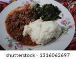 traditional african cuisine for ...   Shutterstock . vector #1316062697