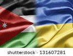 jordan and ukraine | Shutterstock . vector #131607281