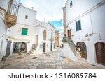 ostuni  puglia  italy  ... | Shutterstock . vector #1316089784