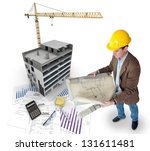 all elements of a property... | Shutterstock . vector #131611481