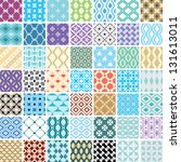 abstract seamless ornament... | Shutterstock .eps vector #131613011