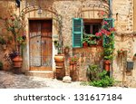 old charming streets  spain | Shutterstock . vector #131617184
