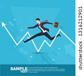 future business leader.flat...   Shutterstock .eps vector #1316212901