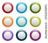 web buttons | Shutterstock .eps vector #131623091